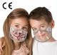 Maski na usta i nos dla dzieci|KIDS SHIELD - 2 szt.